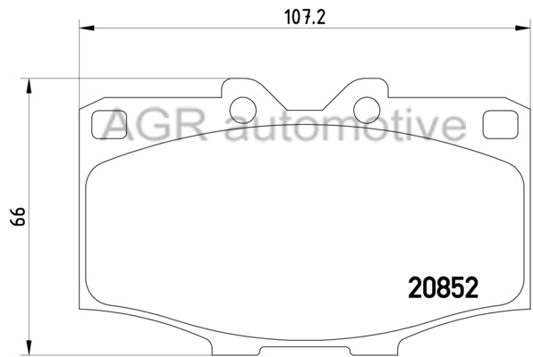 BLUEPRINT FRONT DISCS AND PADS 302mm FOR TOYOTA LANDCRUISER 4.0 D HJ60 1981-91