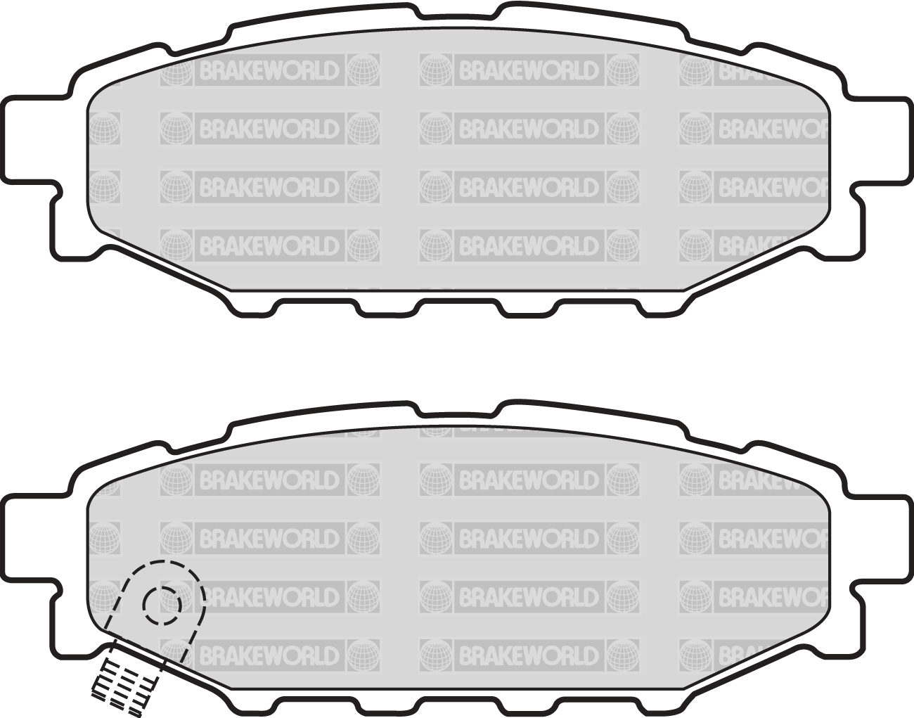 R90 SPEC FRONT AND REAR DISCS PADS FOR SUBARU FORESTER 2.0 TD 2008-13