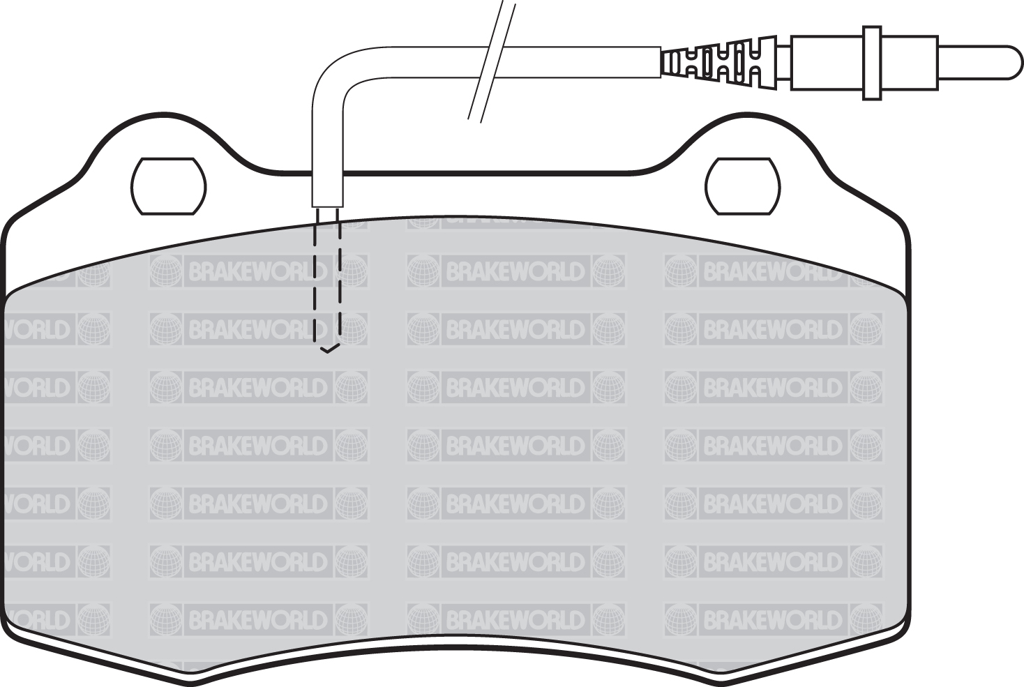 Oem Spec Front And Rear Pads For Peugeot 406 Coupe 2 2 Td