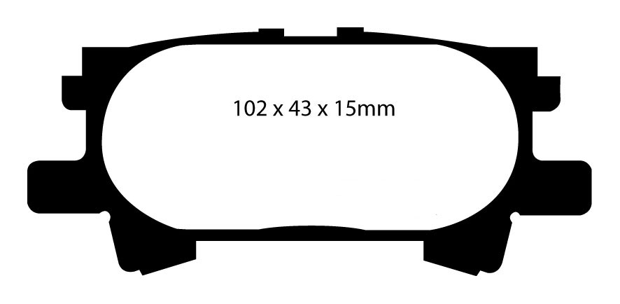PD01KR295 NEW EBC 280mm REAR BRAKE DISCS AND GREENSTUFF PADS KIT OE QUALITY